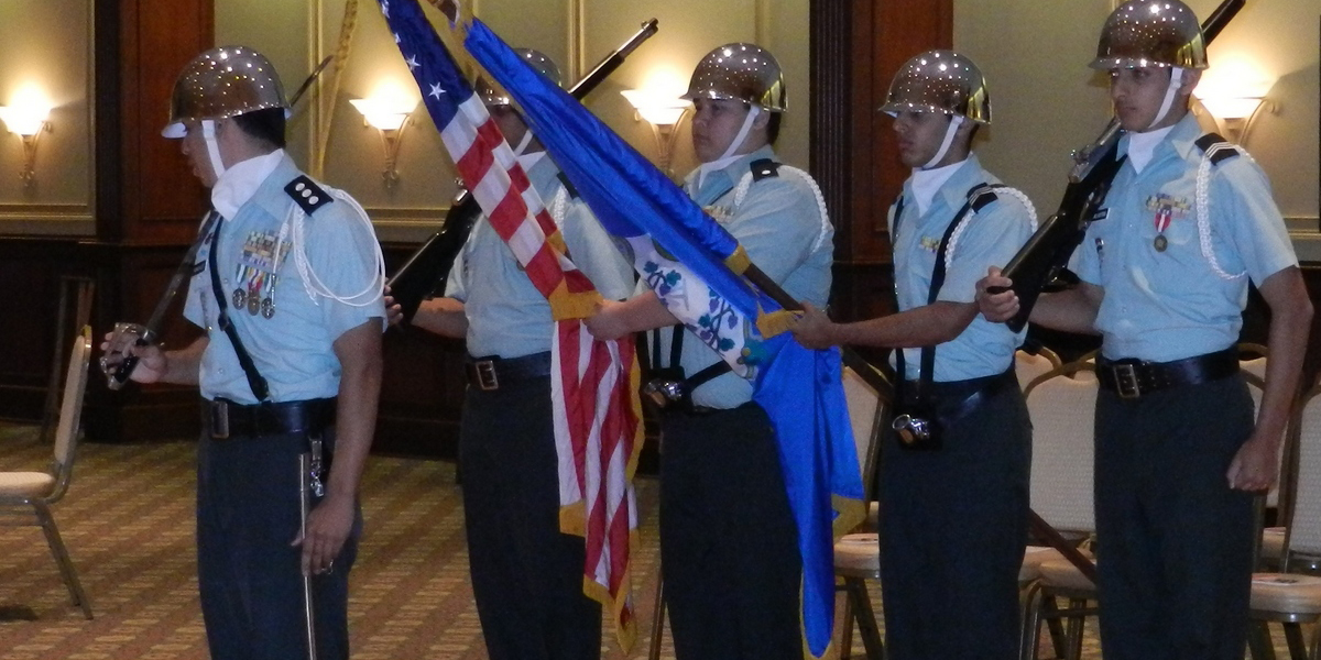 Westfield-JROTC-Color-Guard-in-action