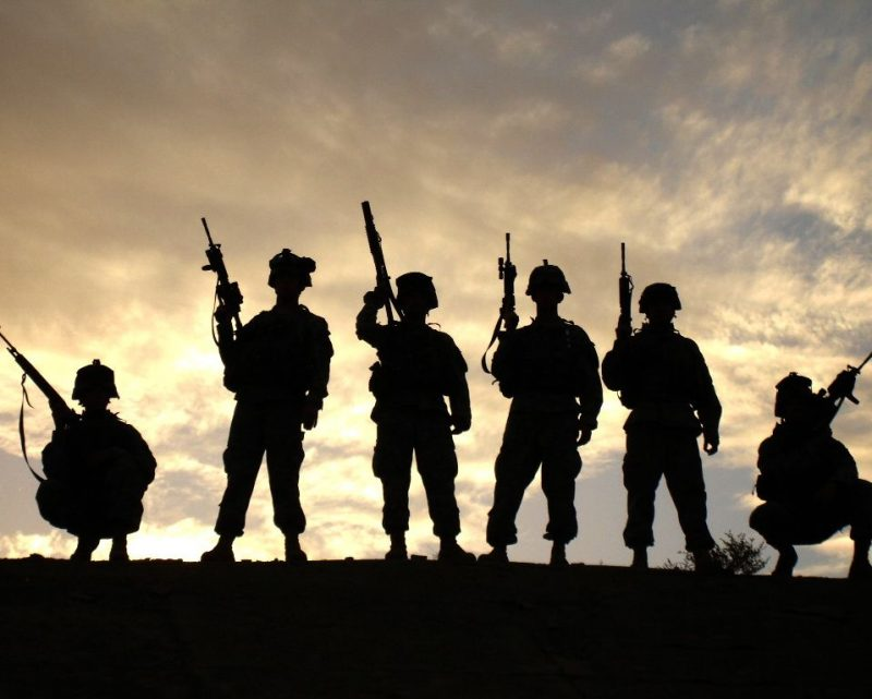 """""""The soldier is the Army. No army is better than its soldiers. The soldier is also a citizen. In fact, the highest obligation and privilege of citizenship is that of bearing arms for one's country."""" - Gen. George S. Patton Jr."""